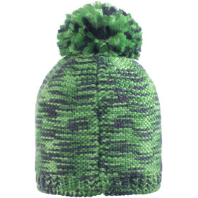Jack Wolfskin Kaleidoscope Knit Cap Kids evergreen